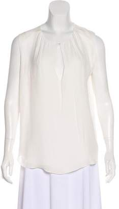 L'Agence Sleeveless Silk Top