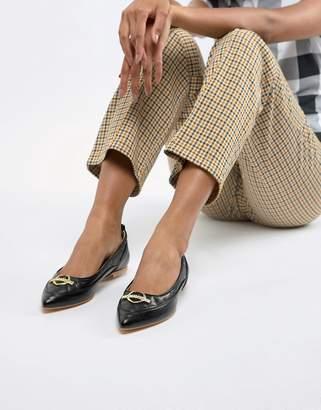 Love Moschino flat ballerina shoes