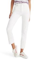Madewell High Waist Classic Straight Jeans