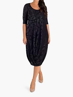 chesca Chesca Fleur De Lys Dress, Black