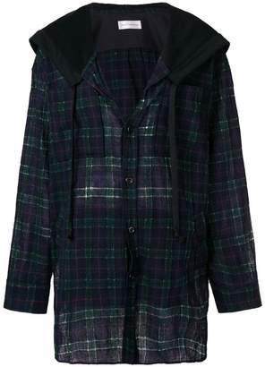 Faith Connexion checked shirt jacket