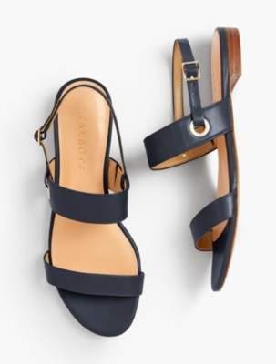 Talbots Keri Double Strap Sandals - Solid