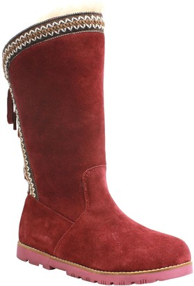 Lamo Suede Lace-Up Boots - Madelyn