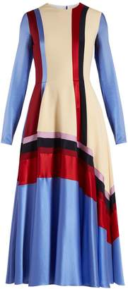 Roksanda Etta silk-satin dress