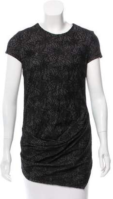 Doo.Ri Lace Short Sleeve Top