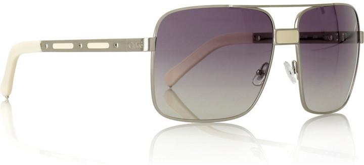 Chloé Jumbo aviator sunglasses