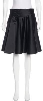 Ralph Lauren Purple Label Silk A-Line Skirt