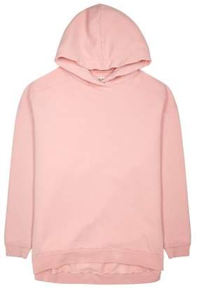 A Gold E Agolde AGOLDE High Low Oversized Cotton Sweatshirt