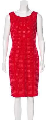 Calvin Klein Embellished Knee-Length Dress