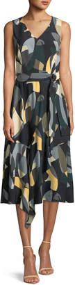 Lafayette 148 New York Telson Ornamental Mosaic Dress
