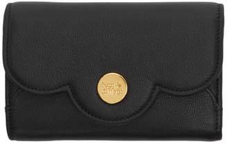 See by Chloe Black Compact Polina Wallet
