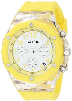 RumbaTime Men's Mercer Lemon Drop 45mm Dial Watch