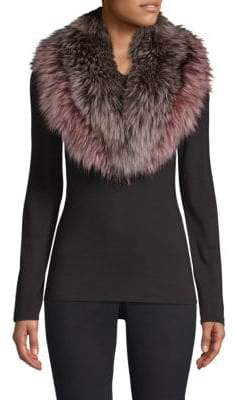 Pologeorgis Fox Fur Collar