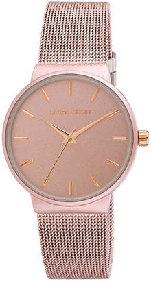 Laura Ashley Womens Pink Strap Watch-La31043pk