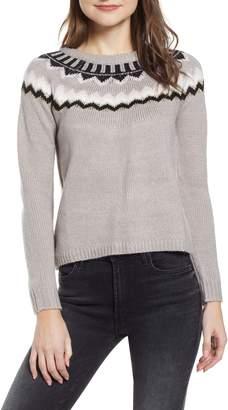 Love By Design Fair Isle Sweater