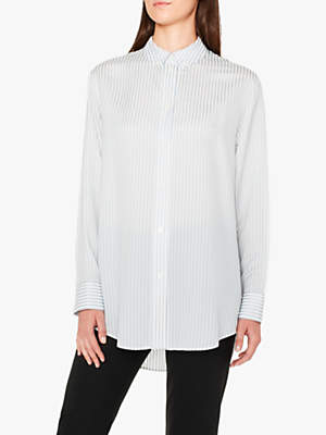 Paul Smith Stripe Boyfriend Shirt, Blue/Multi
