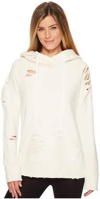 Alo Ripped Hoodie Women's Sweatshirt