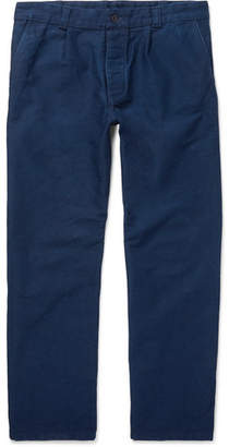 Arpenteur Wide-Leg Cotton-Moleskin Trousers