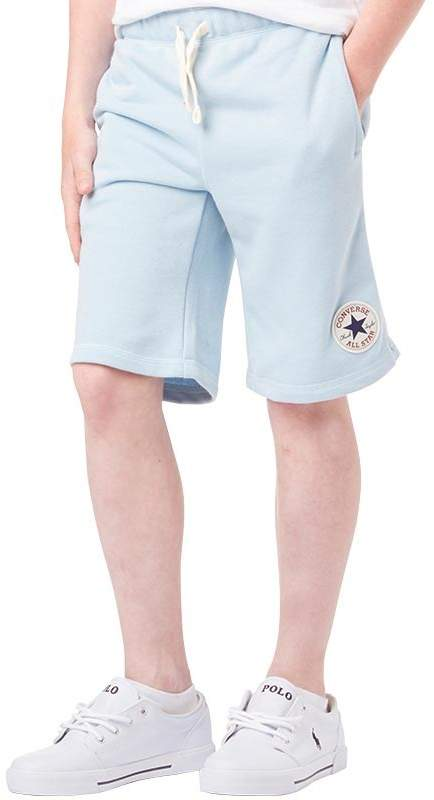 Junior Boys French Terry Shorts Ambient Blue