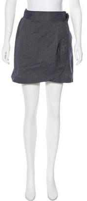 Tibi Mini Wrap Skirt
