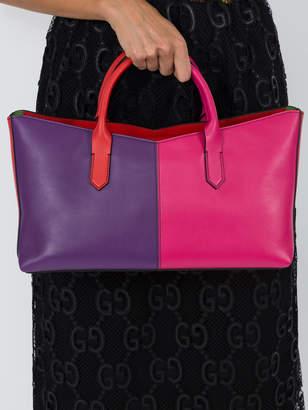 Sara Battaglia Color block tote bag