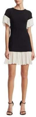 Cinq à Sept Rosaria Ruffle Hem Mini Dress