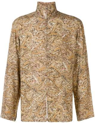Lemaire printed shirt