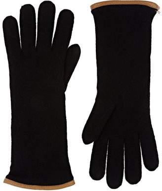 Barneys New York Women's Double-Knit Cashmere Gloves
