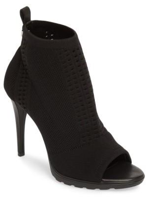 Women's Calvin Klein Malai Stretch Peep Toe Bootie $128.95 thestylecure.com