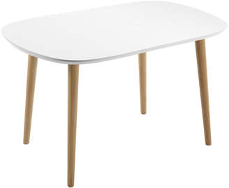 Linea Furniture Quiz Oval Extendable Dining Table