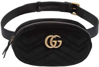 Gucci Gg Marmont 2.0 Velvet Belt Pack