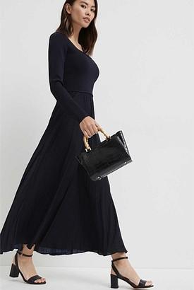 Witchery Spliced Milano Dress