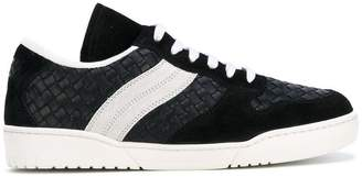 Bottega Veneta woven low top sneakers