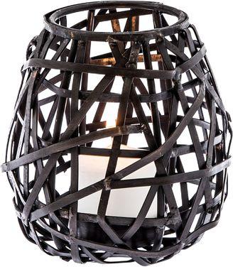 Casa Uno Birds Nest Metal Candle Holder, Medium