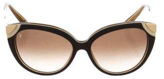 Louis Vuitton Amber Cat-Eye Sunglasses