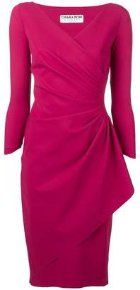Chiara Boni Le Petite Robe Di knotted waist dress