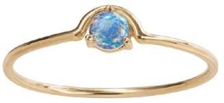 WWAKE Single Nestled Opal Ring