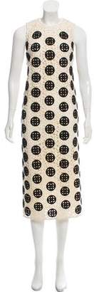 Burberry Crocheted Midi Dress