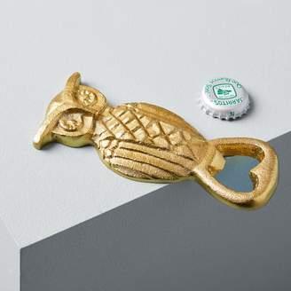 west elm Brass Owl Bottle Opener