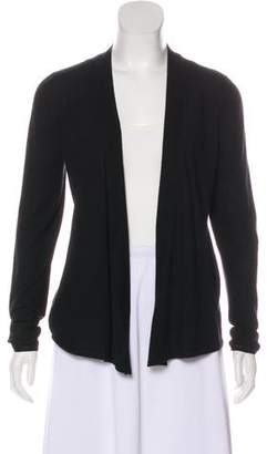 Agnona Long Sleeve Wool & Cashmere-Blend Cardigan