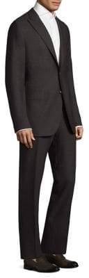 Boglioli Alton Basketweave Wool Suit