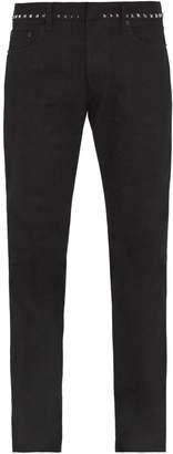 Valentino Rockstud Untitled #6 slim-leg jeans
