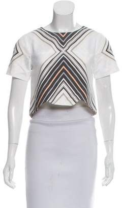 Jonathan Simkhai Striped Crop Top w/ Tags
