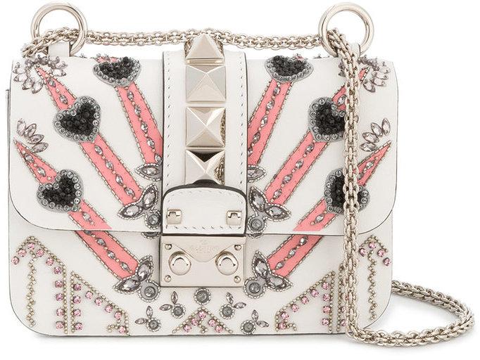 ValentinoValentino 'Loveblade' Lock Shoulder Bag