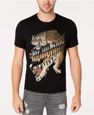 GUESS Men Tiger Graphic T-Shirt