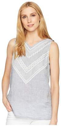 Nic+Zoe Sandy Sequins Tank Top Women's Sleeveless