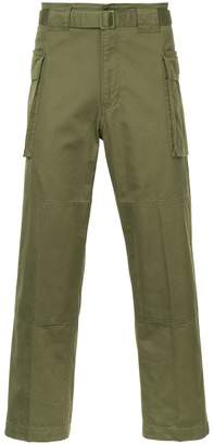 Hysteric Glamour cropped cargo trousers
