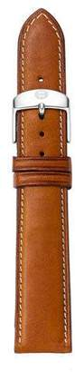 Michele 16mm Leather Strap, Tan