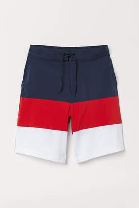 H&M Knee-length swim shorts - Red