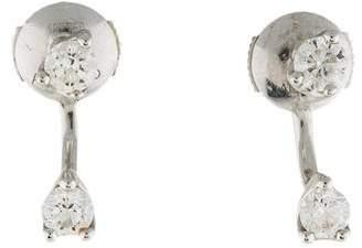 Anita Ko 18K Diamond Orbit Earrings
